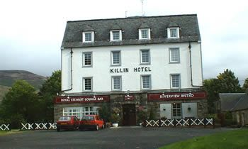 image of the Killin Hotel